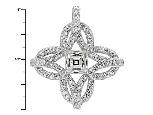 Tycoon For Bella Luce ® 3.42ctw Platineve ™ Pendant With 18 Inch Chain (2.17ctw Dew)