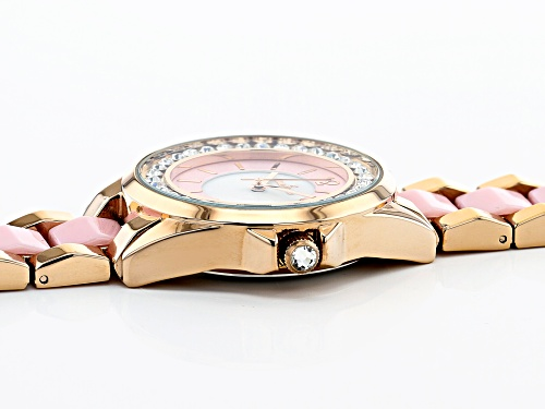 Charles Latour Rose Tone Ladies Watch