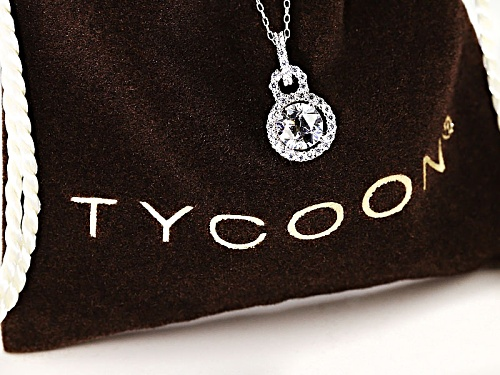 Tycoon For Bella Luce ® 2.91ctw Round Platenive ™ Necklace (1.79ctw Dew)