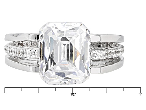 Tycoon For Bella Luce ® 8.26ctw Platineve® Ring (5.57ctw Dew) - Size 11
