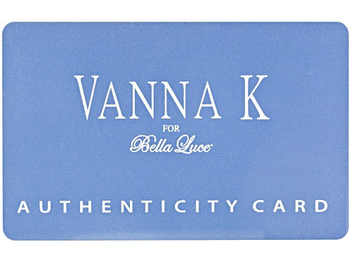 Vanna K ™ For Bella Luce ® 5.40ctw Platineve® Ring (3.76ctw Dew) - Size 10