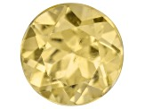 Yellow Apatite 6mm Round 1.00ct
