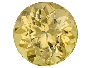 Yellow Apatite 8mm Round 2.00ct