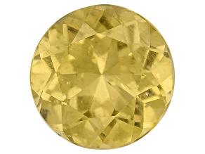 Yellow Apatite 9mm Round 2.50ct