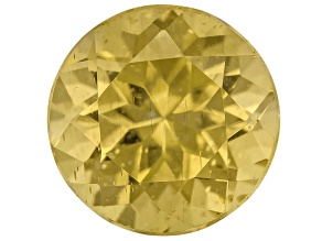 Yellow Apatite 9mm Round 3.00ct