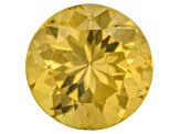 Yellow Apatite 11mm Round 5.50ct
