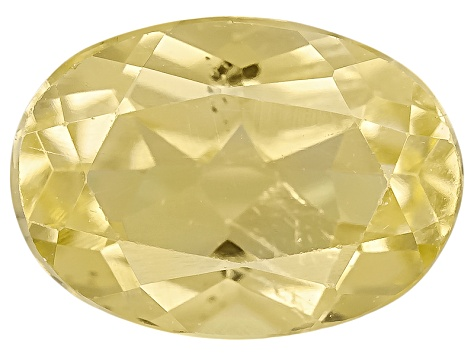 Yellow Apatite .80ct Minimum 7x5mm Oval