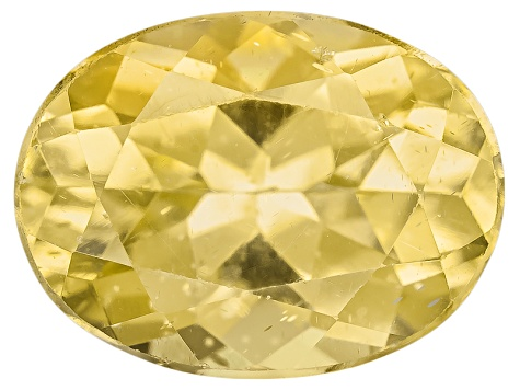 Yellow Apatite 8x6mm Oval 1.25ct
