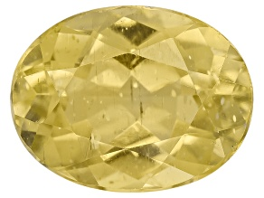 Yellow Apatite 9x7mm Oval 2.00ct