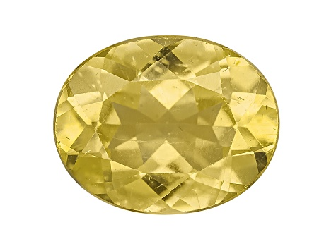 Yellow Apatite 2.50ct Minimum 10x8mm Oval