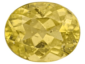 Yellow Apatite 10x8mm Oval 2.75ct