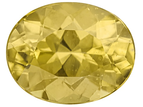Yellow Apatite 10x8mm Oval 3.00ct