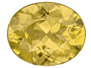 Yellow Apatite 11x9mm Oval 3.50ct