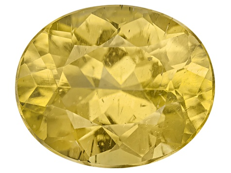 Yellow Apatite 3.75ct Minimum 11x9mm Oval