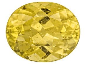Yellow Apatite 11x9mm Oval 4.00ct