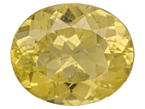Yellow Apatite 12x10mm Oval 4.50ct