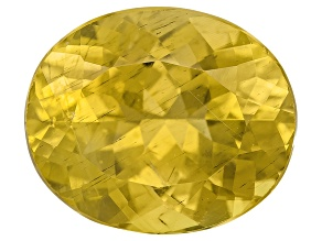 Yellow Apatite 12x10mm Oval 5.00ct
