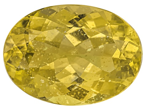 Yellow Apatite 14x10mm Oval 6.50ct