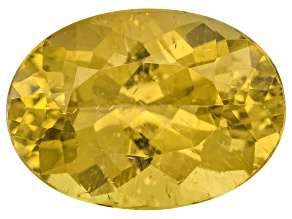 Yellow Apatite 14x10mm Oval 7.00ct