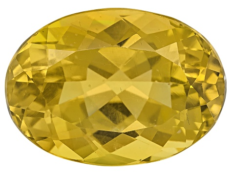 Yellow Apatite 14x10mm Oval 7.25ct
