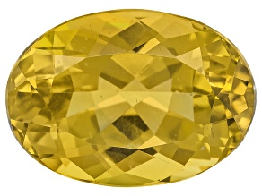 Yellow Apatite 14x10mm Oval 7.25ct