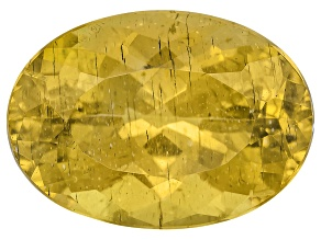 Yellow Apatite 14x10mm Oval 7.75ct
