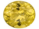 Yellow Apatite 14x12mm Oval 8.00ct