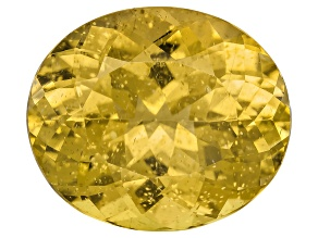 Yellow Apatite 14x12mm Oval 8.50ct