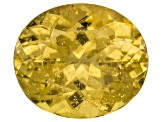 Yellow Apatite 14x12mm Oval 8.50ct