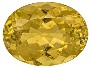 Yellow Apatite 16x12mm Oval 10.00ct