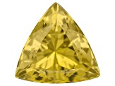 Yellow Apatite 11mm Trillion 4.75ct