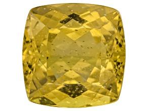 Yellow Apatite 11mm Square Cushion 6.25ct