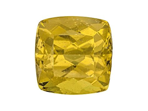 Yellow Apatite 11mm Square Cushion 8.00ct