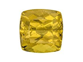 Yellow Apatite 11mm Square Cushion 8.00ct