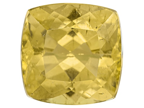 Yellow Apatite 9mm Square Cushion 3.50ct