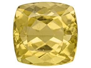 Yellow Apatite 6.00ct Minimum 10mm Square Cushion