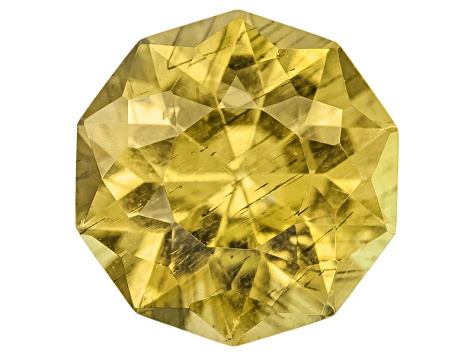 Yellow Apatite 9mm Murmur Cut 2.65ct