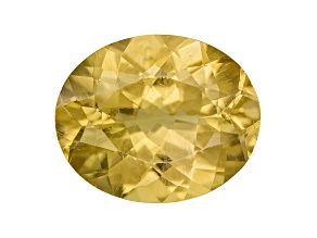 Yellow Apatite 11x9mm Oval 3.25ct