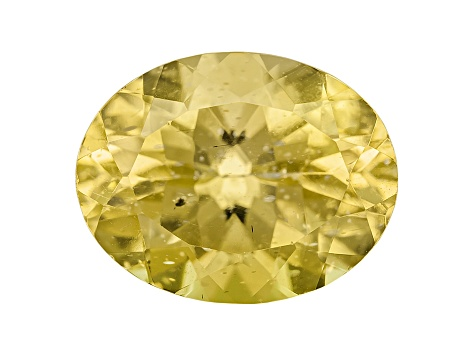 Yellow Apatite 9x7mm Oval 1.75ct