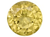 Yellow Apatite 7mm Round 1.20ct