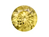 Yellow Apatite 8mm Round 1.65ct