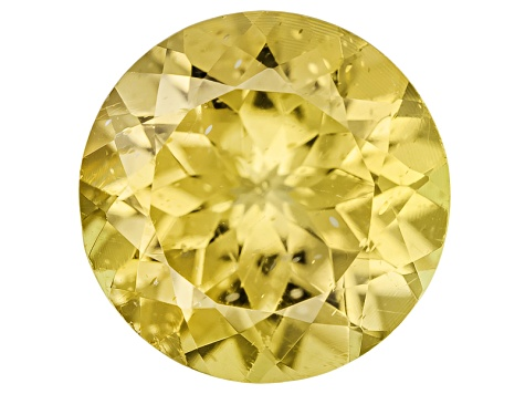Yellow Apatite 9mm Round 2.25ct