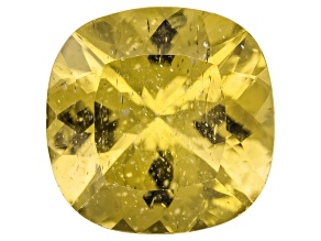 Yellow Apatite 11mm Square Cushion 5.00ct