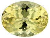 Canary Apatite 16x12mm Oval 9.47ct