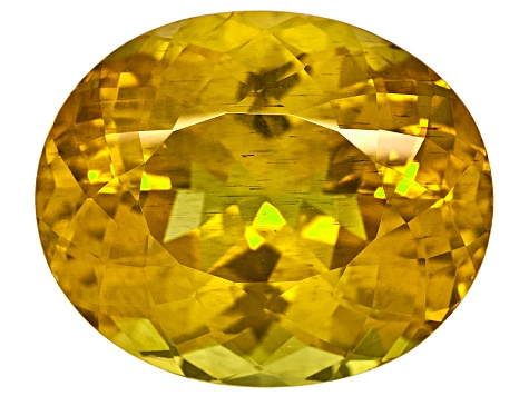 Madagascan Canary Apatite Minimum 20.00ct mm Varies Oval
