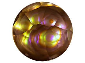 Multi Color Mexican Fire Agate 10mm Round Cabochon