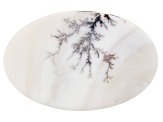 Dendritic Agate 42x27mm Oval Tablet 18.02ct