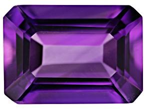 Amethyst 14x10mm Emerald Cut 6.00ct
