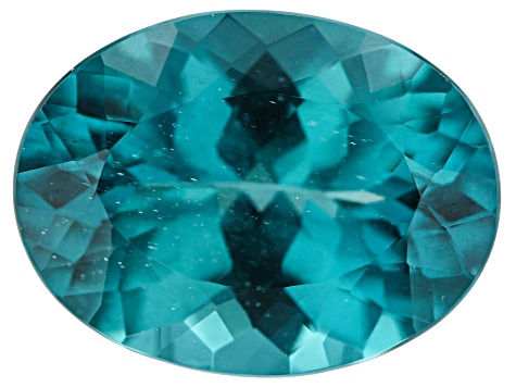 Paraiba Color Apatite 15x11mm Oval 7.04ct