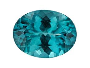 Paraiba Color Apatite 15x11mm Oval 7.04ct